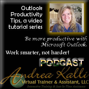 Outlook Productivity Tips, a video tutorial series