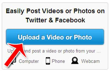 How To Post a Video to Facebook or Twitter from TwitVid