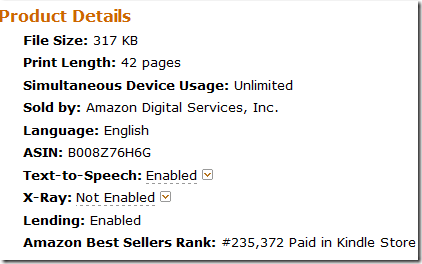how to sell ebook on kindle