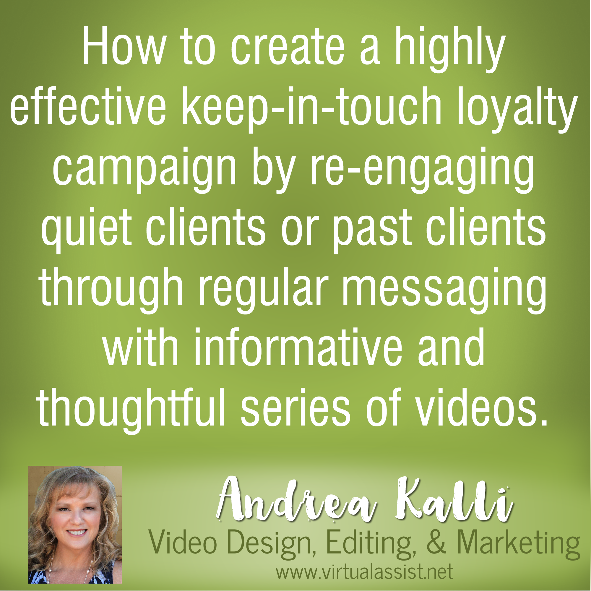 How to Use Video to Re-engage Past Clients or Inactive Clients