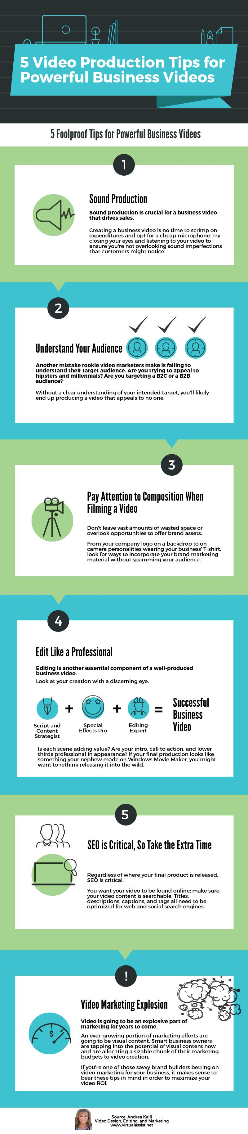 Video Production Tips