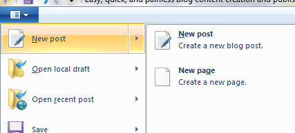 Easy, quick, and painless blog content creation and publishing using Windows Live Writer 2011